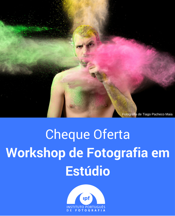 Workshop de Fotografia em Estúdio