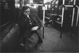 Série ''New York Subway'' (1946) de Stanley Kubrick