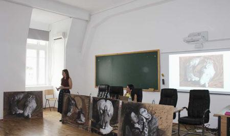 Sílvia Vieira em Bucareste