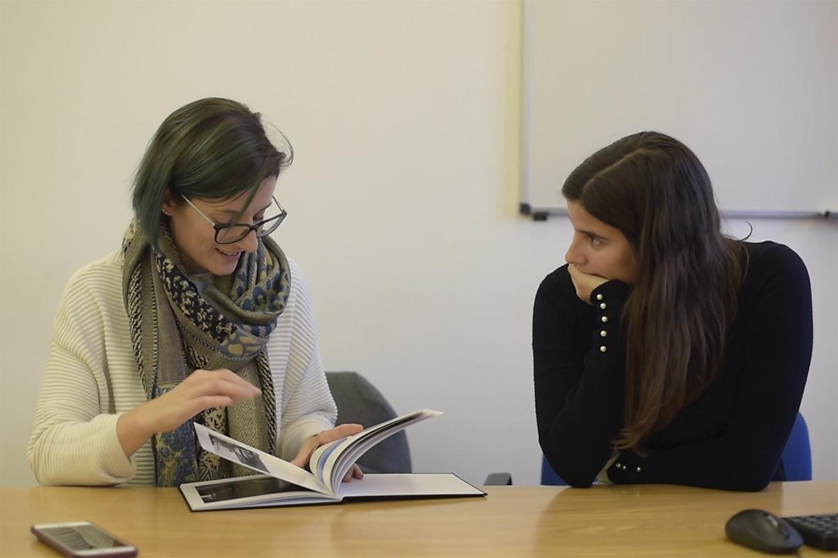 Leitura de Portefólios com Sara Lando