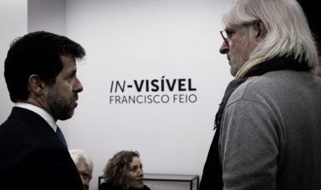 """Exposição """"In-visível"""" de Francisco Feio"""