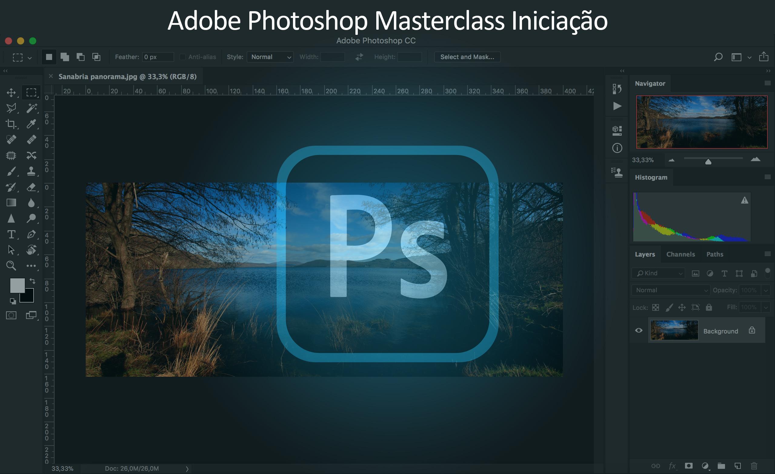 Masterclass de Adobe Photoshop – Intermédio – Online